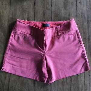The Limited Coral Tailored Shorts
